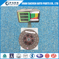 Manufacturer of 430mm Clutch Disc Clutch Plate Friction Disc WG9725160390