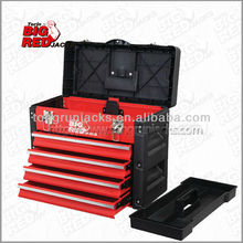 Torin BigRed Palstic and Steel Tool Box with 3 Drawers