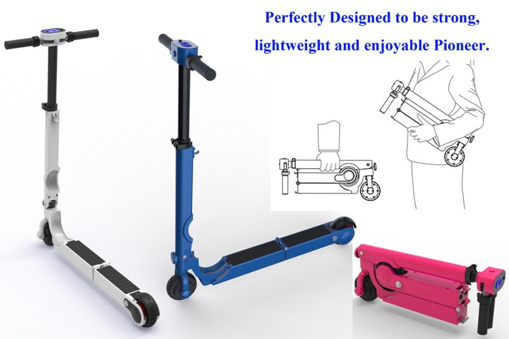 Self balance electric scooters with ULTRA PORTABLE, two wheels
