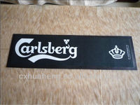 Promotional Rubber and Felt Bar Mat