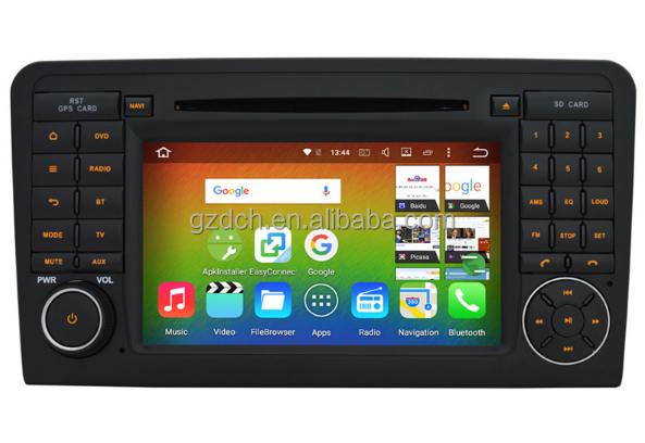 1024*600 Android 6.0 Octa Core Car <strong>DVD</strong> Player For Mercedes Ben-z ML GL Class <strong>W164</strong> X164 Radio <strong>GPS</strong> Navigation 32GB WS-8823