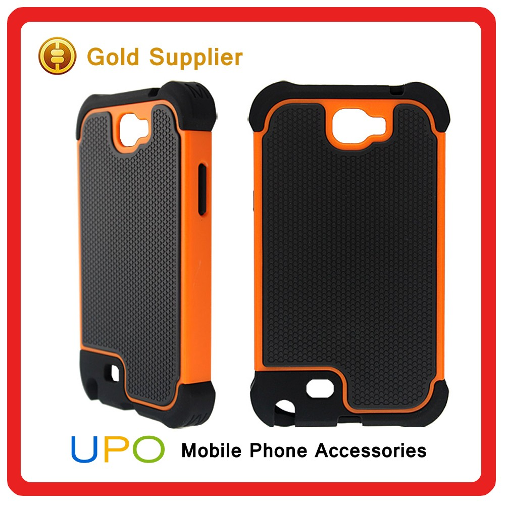 [UPO] Custom Tough Shockproof Combo Armor Phone Case for Samsung Galaxy Note 2 N7100