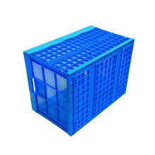 Warehouse Use Foldable Plastic Garment Crate Manufacturer
