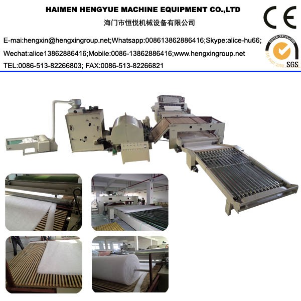 double doffer combing machine