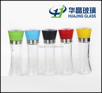 manual 170ml salt and pepper glass grinder with high quality