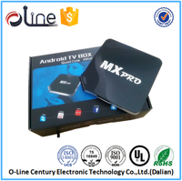Cost-effective android tv box car S805 4 CPU mx pro android tv box
