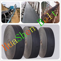 Cotton mining nylon flat cheap conveyor belt loader