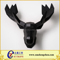 3d wall mounted resin deer head animal head of deer for wall decoration