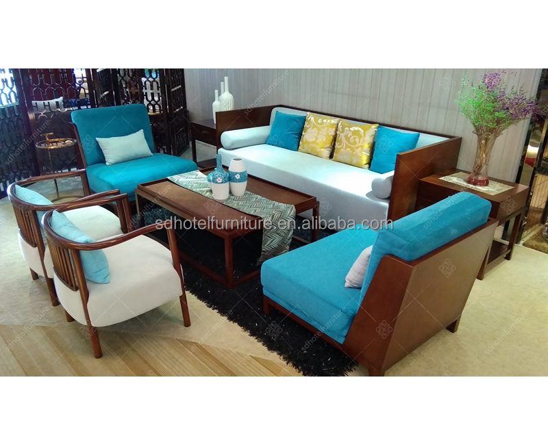 European Style Living Room Sofa Set From Foshan Supplier