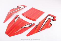 KM New design roll cage body(PC material),Red,Orange,carbon for option