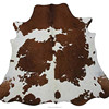 Retro Whole Real Cow Leather Carpet for Home Decoration