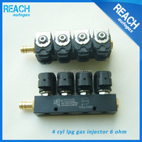 High quality cng lpg conversion kit valtek natural gas injector for car