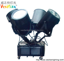 most searched products Outdoor Projector heavy duty moving head searchlight 2kw-5kw sky search light 4 heads