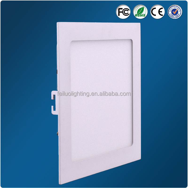 6W SMD 2835 Warm White led panel lighting fixture