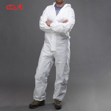 disposable Industry Workwear chemical Protective Clothing Coverall