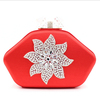 red color rich ladies hand bags,colourful ladies fashion bags