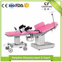 Obstetric delivery three sections manual control electric examination table