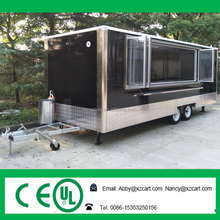 Top quality promotional mobile food cart with Factory outlets