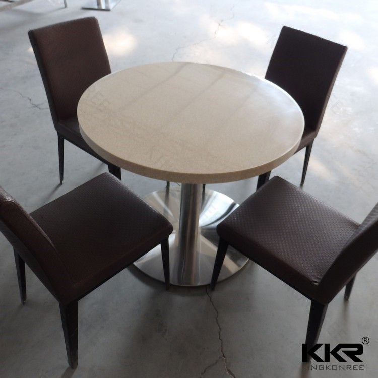 Short leg japanese stone top dining table
