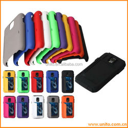 Crdit Card Holder Plastic Case Stand Cover for Samsung Galaxy S5 I9600