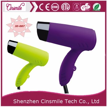 Mini car use hair dryer with low noise