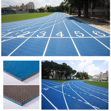 Rubber Athletic Runway Track Surface