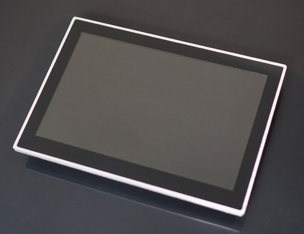 Silver capacitive touchscreen 1920*1200 high resolution 10 inch touch screen monitor