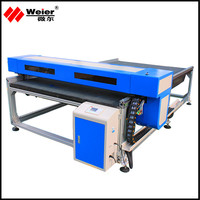 Manufacturers supply CO2 new type leather laser cutting machine