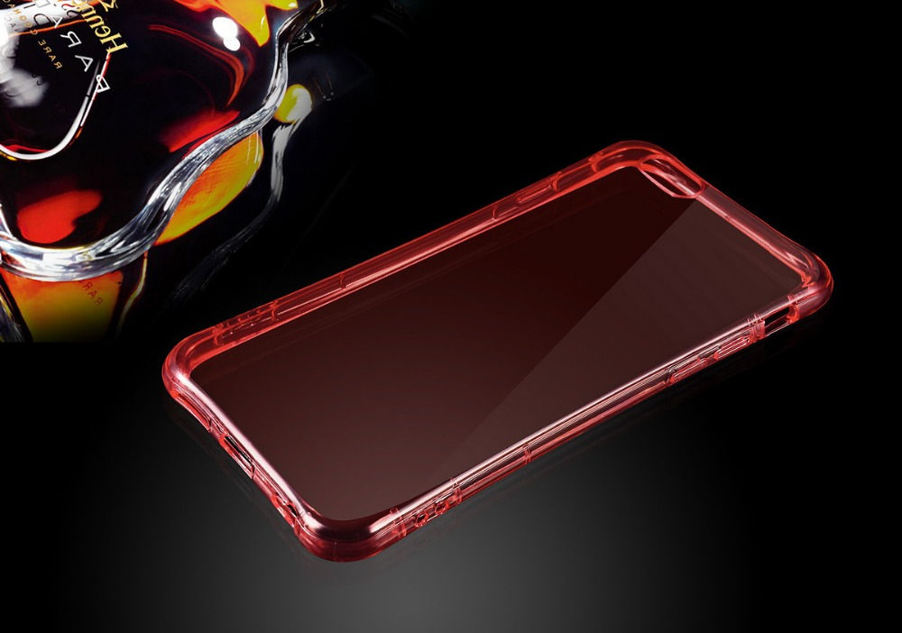 Incoming Call LED Bumper, Two in One TPU Shining Bumper Flash Light LED Case Cover For iPhone 5 6 6 Plus