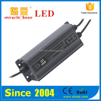 Outdoor CE Rohs Approved 12V 24V Waterproof Wlectronic LED Driver 100W