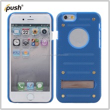2015 mesh speaker design metal case for iPhone6 4.7