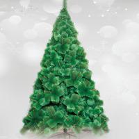 snow pine needle christmas tree