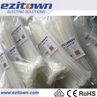 CT self-locking wire wraps eco-friendly tie straps electrical Nylon cable ties china manufacturers plastic cable tie fasteners