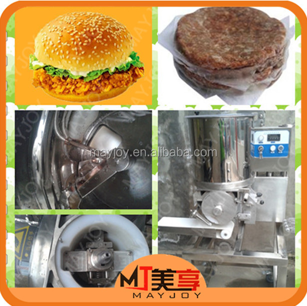 Mayjoy 2016 Stainless Steel Automatic Beef Shrimp Meat Hamburger Burger Patty Forming Making Machine