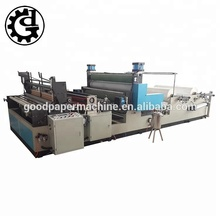 Automatic gluing lamination kitchen towel small toilet paper making machine