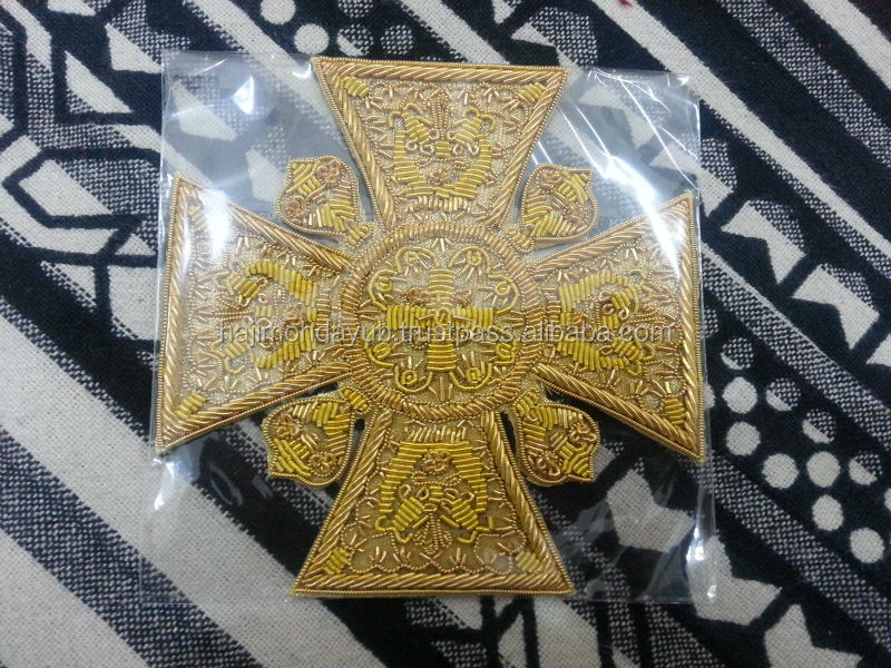 HAND EMBROIDERY ORTHODOX CROSSES FOR VESTMENTS