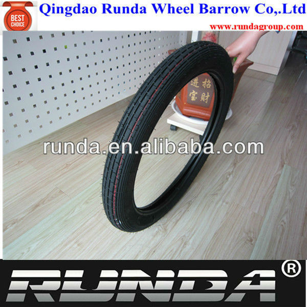 tyre tube for motorcycle 275-18 with professional factory