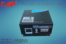 Off grid PWM/MPPT 300W-1500W solar hybrid inverter with intelligent controller function
