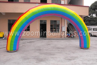 High quality low price inflatable rainbow arch for outdoor events N4002