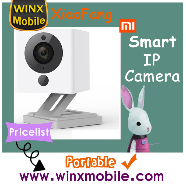 2017 new Original XiaoMi XiaoFang Portable Smart IP Camera international version 1080P Small Square best price list