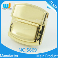 alloy suitcase lock for briefcase Fashion designer luggage handle parts