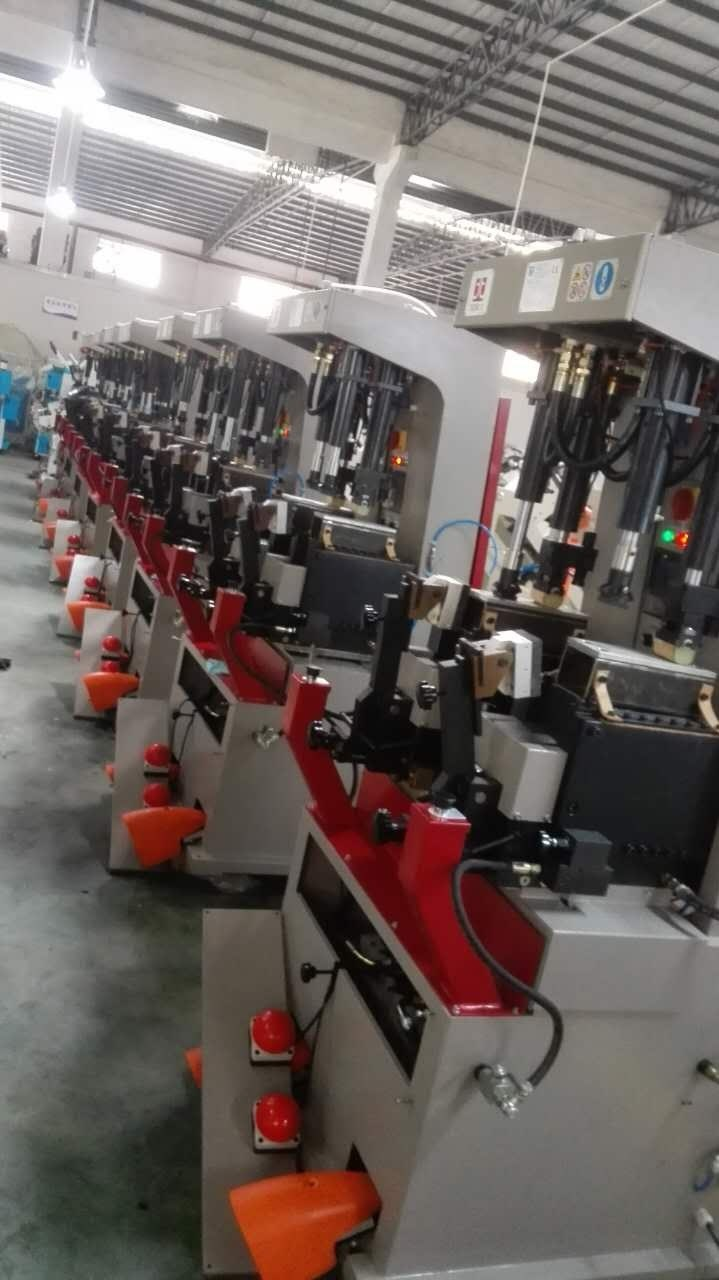sole pressing machine