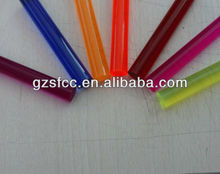 colored acrylic rod, colored acrylic rod, clear plastic rod