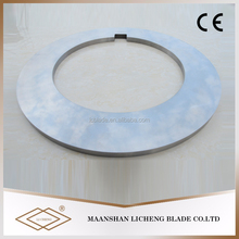 Hot rolled plate coil shearing blade for metal disc cutter