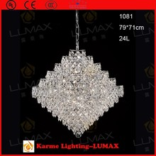 Asfour crystal pendant ball light for dinning room hanging lamp dropping lamp