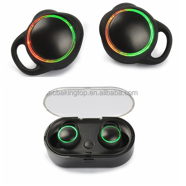 TWS Mini Bluetooth stereo headphone wireless headsets with charging case