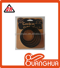 stainless steel and wave shape cookie cutter