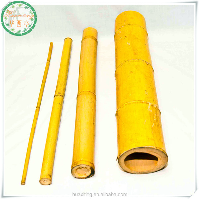 Green Strong Raw Bamboo Poles/ Agricultural Poles Products