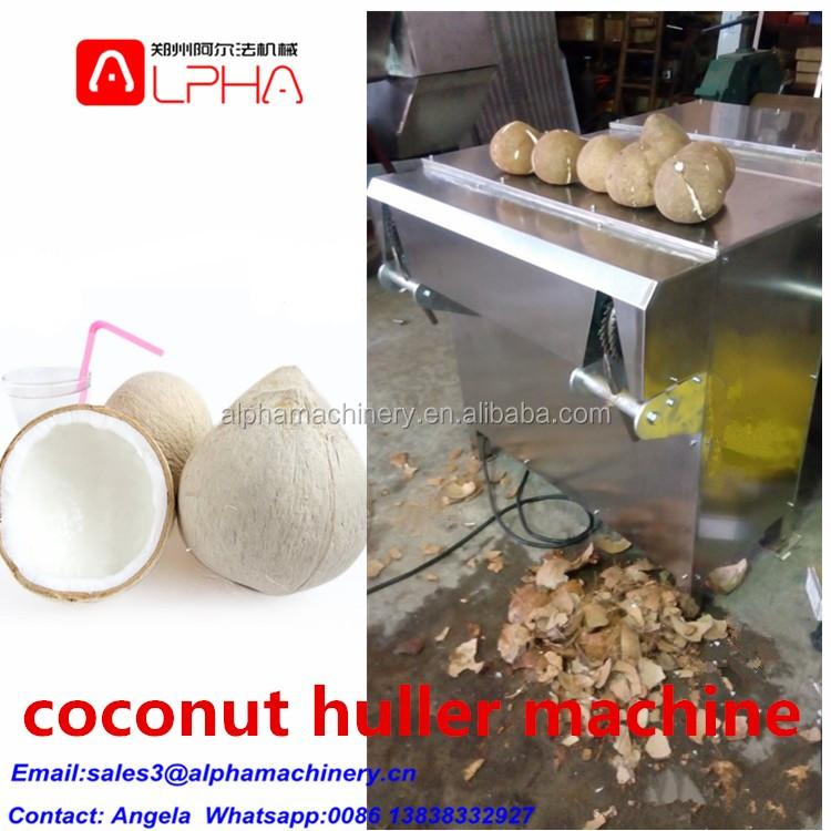 coconut dehusker machine