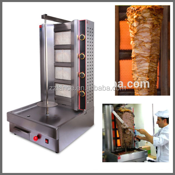 gas/electric shawarma equipment for sale